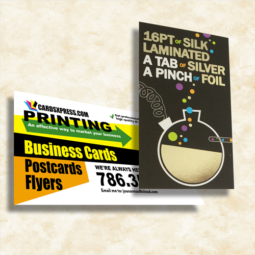 """SILK Laminated Business Cards """"Impress your Customers"""""""