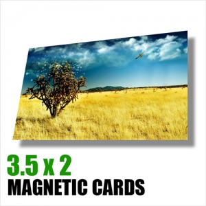 Magnetic Cards 3.5 x 2