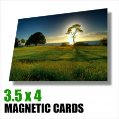 Magnetic Cards 3.5 x 4