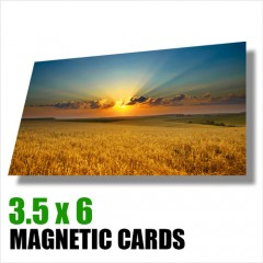 Magnetic Cards 3.5 x 6