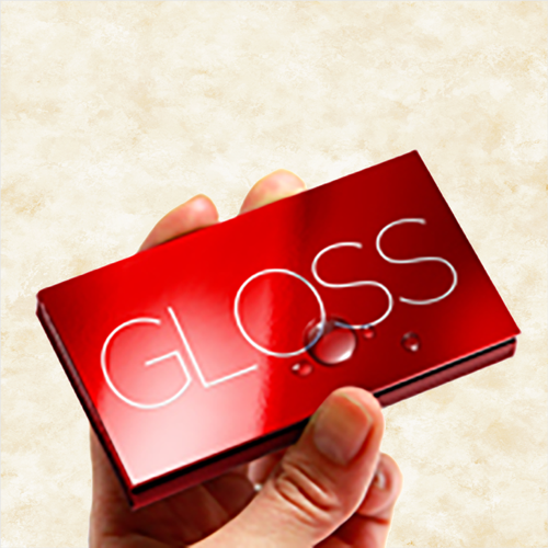 Luster business cards extra durable water resistant luster business cards colourmoves
